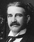 L. Frank Baum circa 1901 black and white photograph