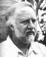 Richard Matheson black and white photograph