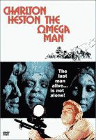 'The Omega Man' starring Charlton Heston color movie poster