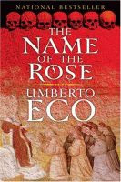The Name of the Rose by Umberto Eco front cover