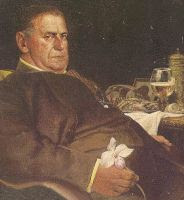 Rex Stout's Nero Wolfe, the 'Falstaff of detectives' painting