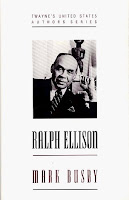 Ralph Ellison by Mark Busby dust jacket front