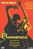 Flamenco directed by Carlos Saura DVD front cover