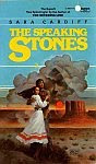 The front cover of 'The Speaking Stones' by Sara Cardiff.
