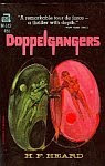 The front cover of 'Doppelgangers' by H. F. Heard.