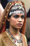 A color photo of Rosario Dawson as Roxan from Oliver Stone's film 'Alexander' (2004).