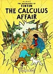 A color photo of the front cover of the 'The Calculus Affair'.