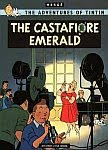 A color photo of the front cover of the 'The Castafiore Emerald'.