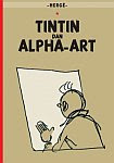 A color photo of the front cover of the book 'Tintin and Alph-Art'
