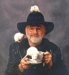 A color photo of Terry Pratchett.