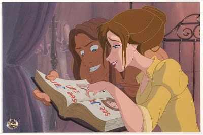 Tarzan and Jane Cartoon Disney