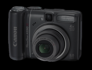 Canon PowerShot A590 IS Digital Camera Review