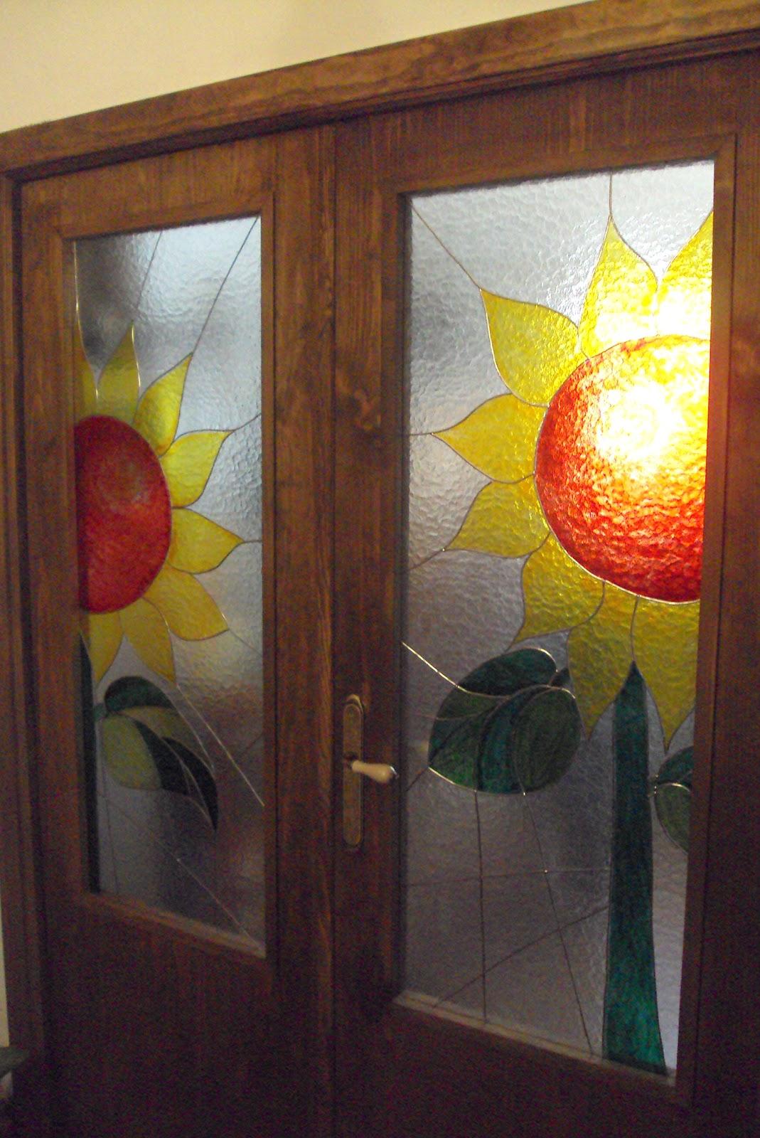 Arte creasiente puertas con vidriera - Vidrieras para puertas ...