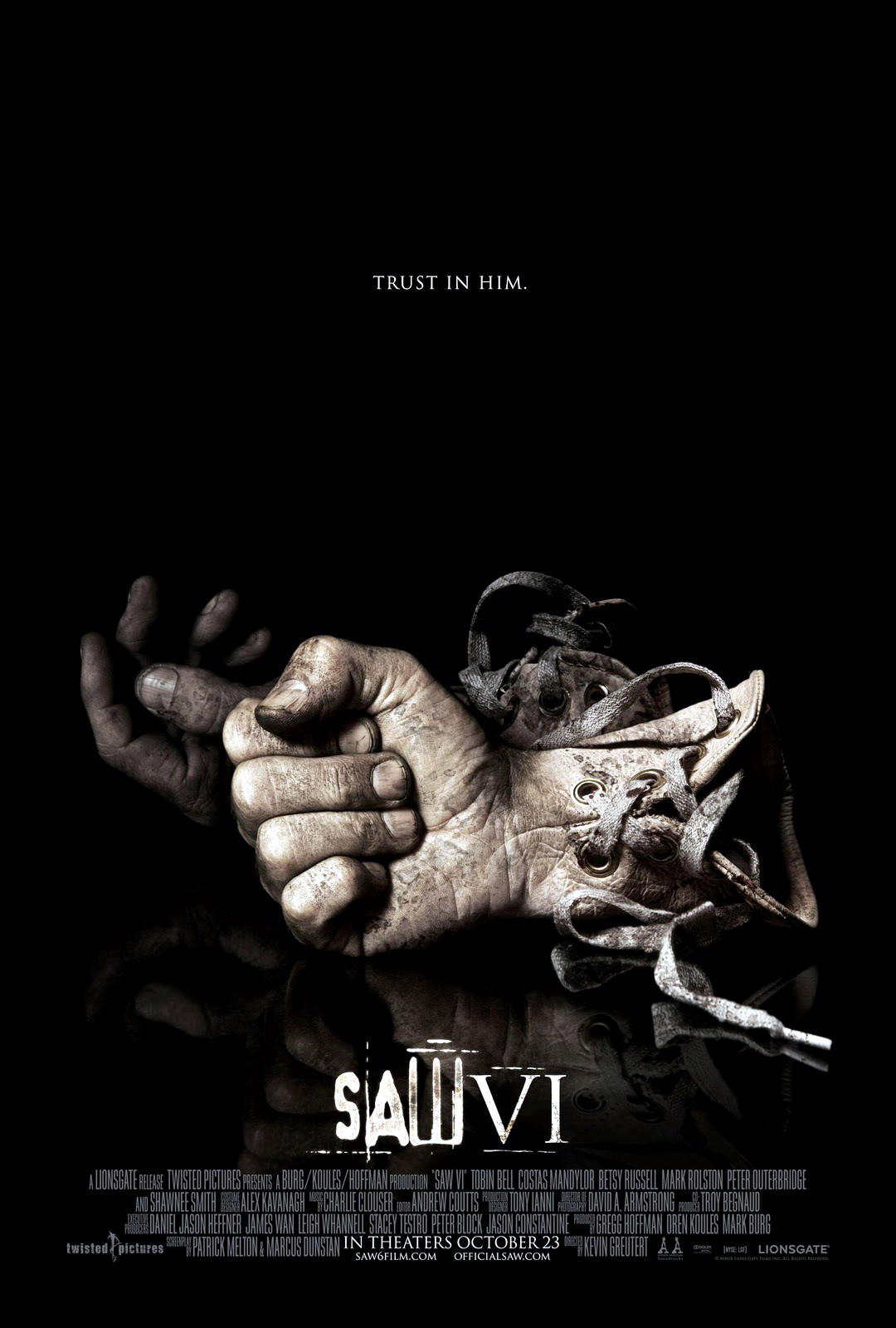 SAW IV Blood Drive Poster
