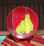 2 Pears Plate