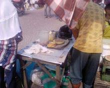 Jualan Martabak khas Pasar Sukanegeri