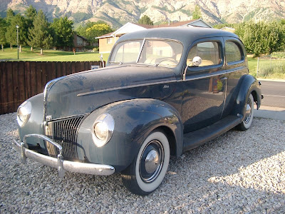 Monte's Garage: 1940 Ford Tudor Sedan