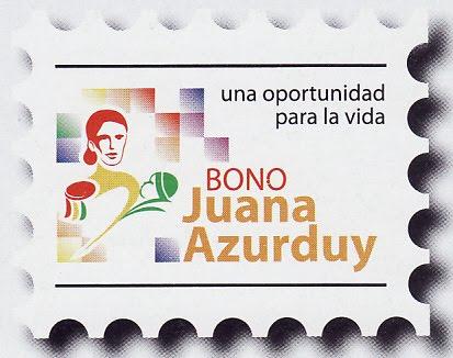 PROGRAMA BONO JUANA AZURDUY CBBA