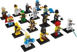 Picture of series 1 collectible minifigures