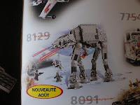 Catalog view of 2010 LEGO Star Wars AT-AT Walker 8129