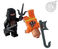 BrickForge Sai and Hook Sword