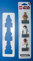 LEGO Star Wars Admiral Ackbar Magnet Set