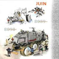 LEGO Star Wars Clone Turbo Tank and Hoth Wampa
