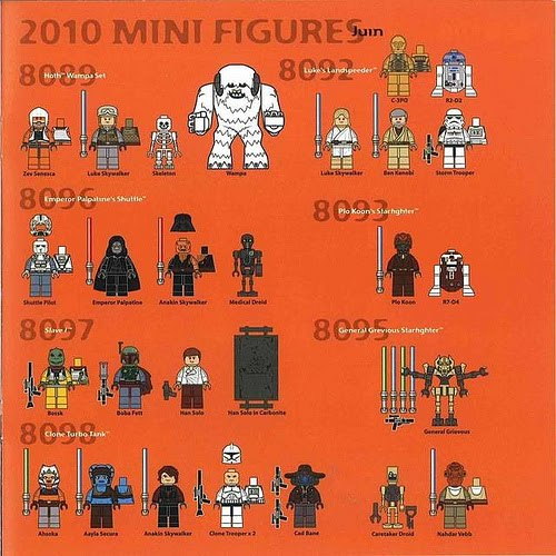 2011 LEGO Star Wars Sets (all eight) I am wondering where the Cad Bane