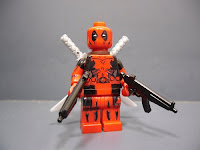 Slientmaster 005 custom Deadpool minifigure