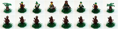 LEGO Forestmen Chess Pieces