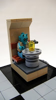 LEGO Star Wars Greedo chess piece