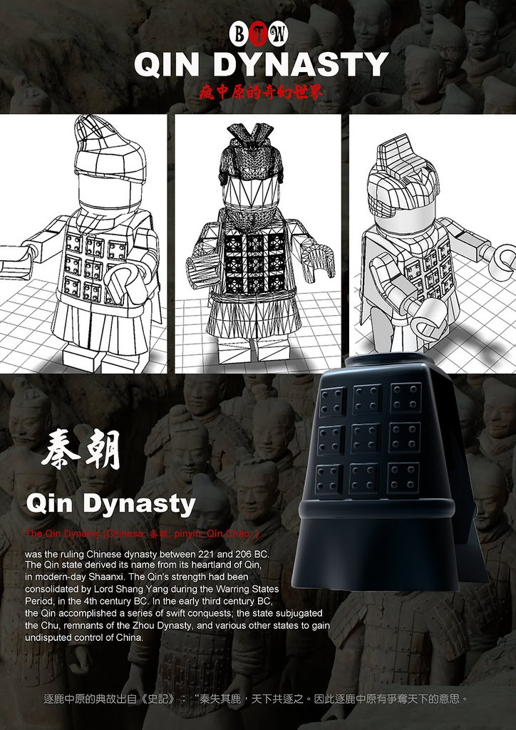 The ugly duckling bricktw qin dynasty for House of dynasty order online