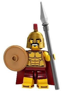 LEGO Collectible Minifigures Series 2 8684 The Spartan Warrior