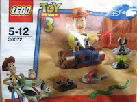 LEGO Toy Story set 30072 Woody's Campfire