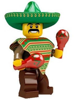 LEGO Collectible Minifigures Series 2 Mr. Maracas Mexican