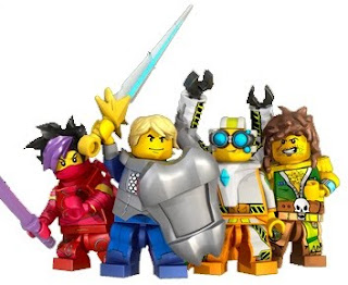 LEGO Universe main characters