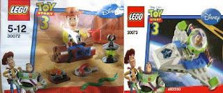 Daily Mirror LEGO Toy Story 3 Woody and Buzz Lightyear Promotion