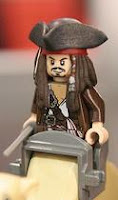 LEGO Pirates of The Caribbean Captain Jack Sparrow