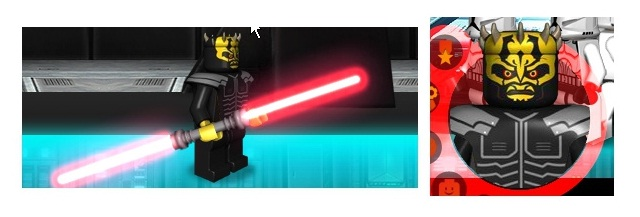 Lucasarts has a new web game for LEGO Star Wars III where you start off as a