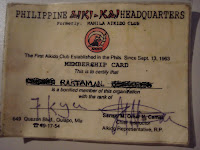 PINOY RASTAMAN - Online Entertainment & BLOGGINGS: Manila Aikido ...