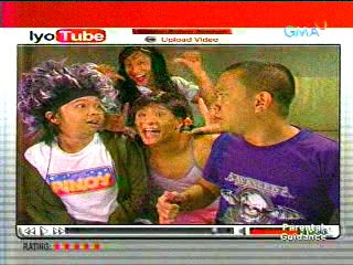 Moymoy Palaboy And Roadfill Lipsynching The Black Eyed Peas Lets Get It Started In This Episode Of Bubble Gangs Iyotube Aired September 12 2008