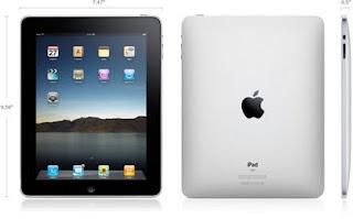 Apple iPad Size