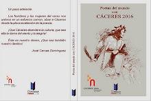 Poetas del mundo con Cáceres 2016