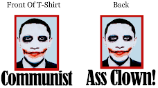 2-Sided Obama Joker Apparel