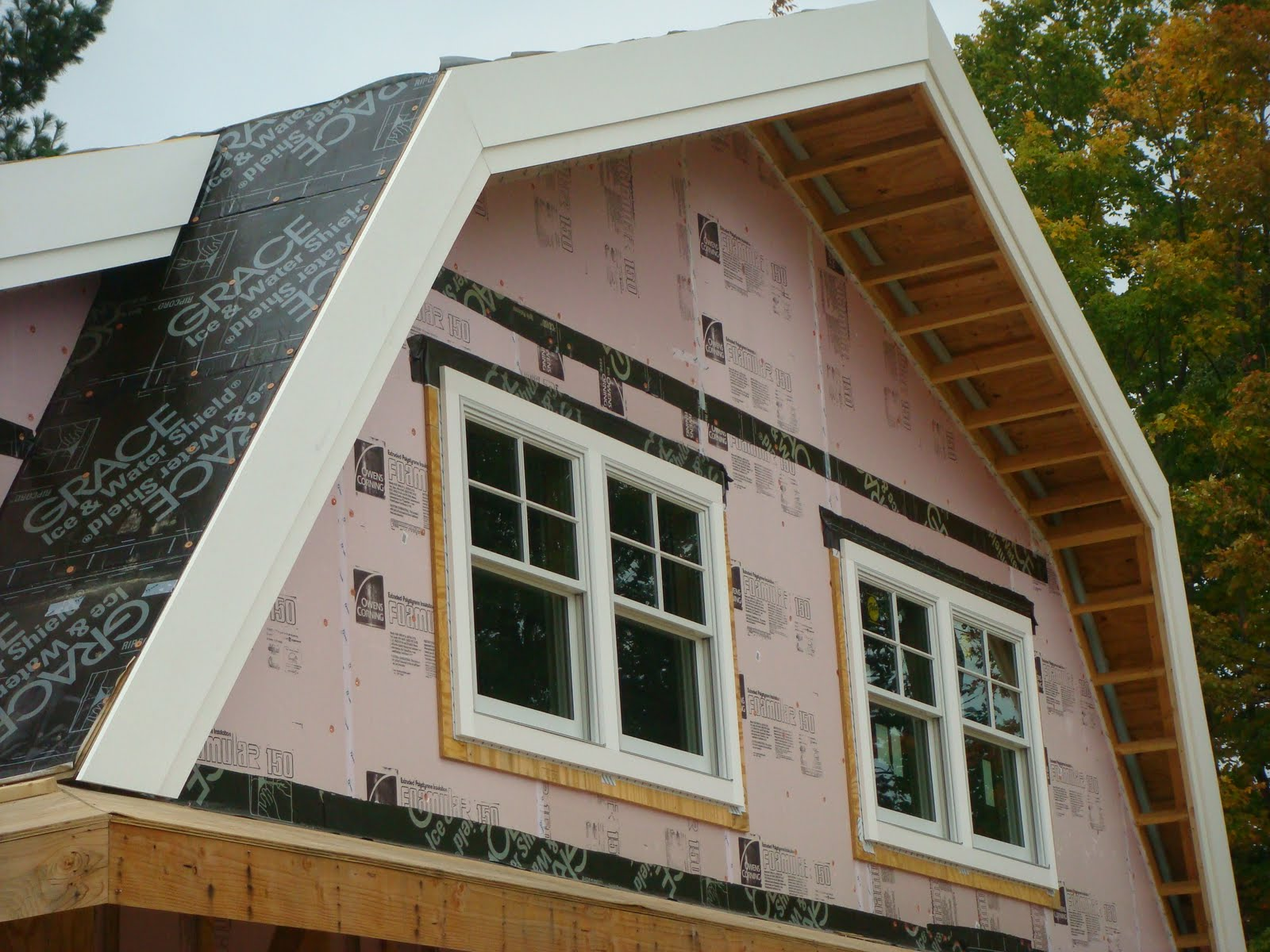 Passive Solar Home Beagle Brook Exterior Trim