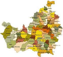 Harta adm. jd.Cluj