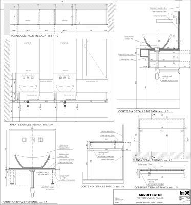 Arquitectura rz detalles de ba os en vivienda familiar - Detalles para el bano ...
