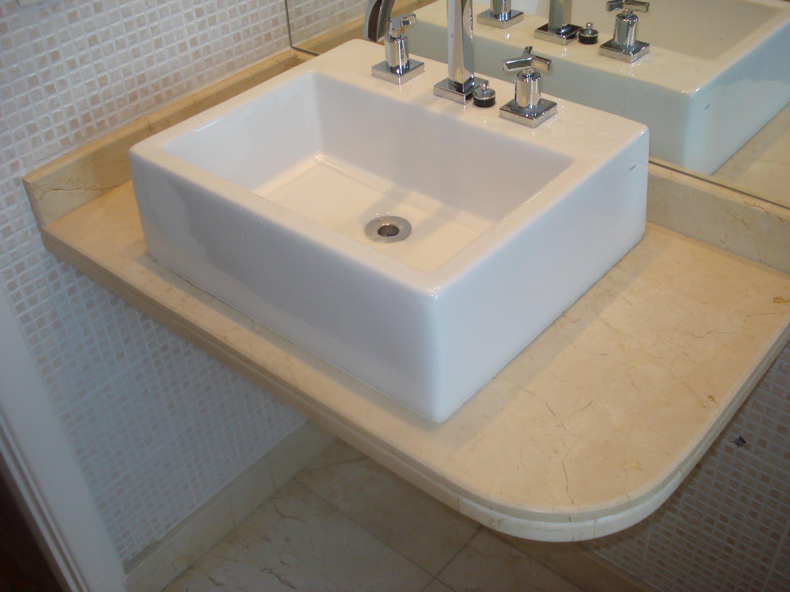 marmore crema marfil #8A6D41 1600x1200 Bancada Banheiro Crema Marfil