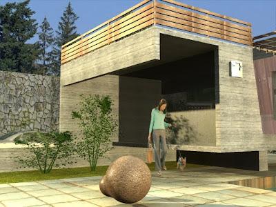 Arquitecto carlos diaz carbajal tijuana casa minimalista for Renta casa minimalista tijuana