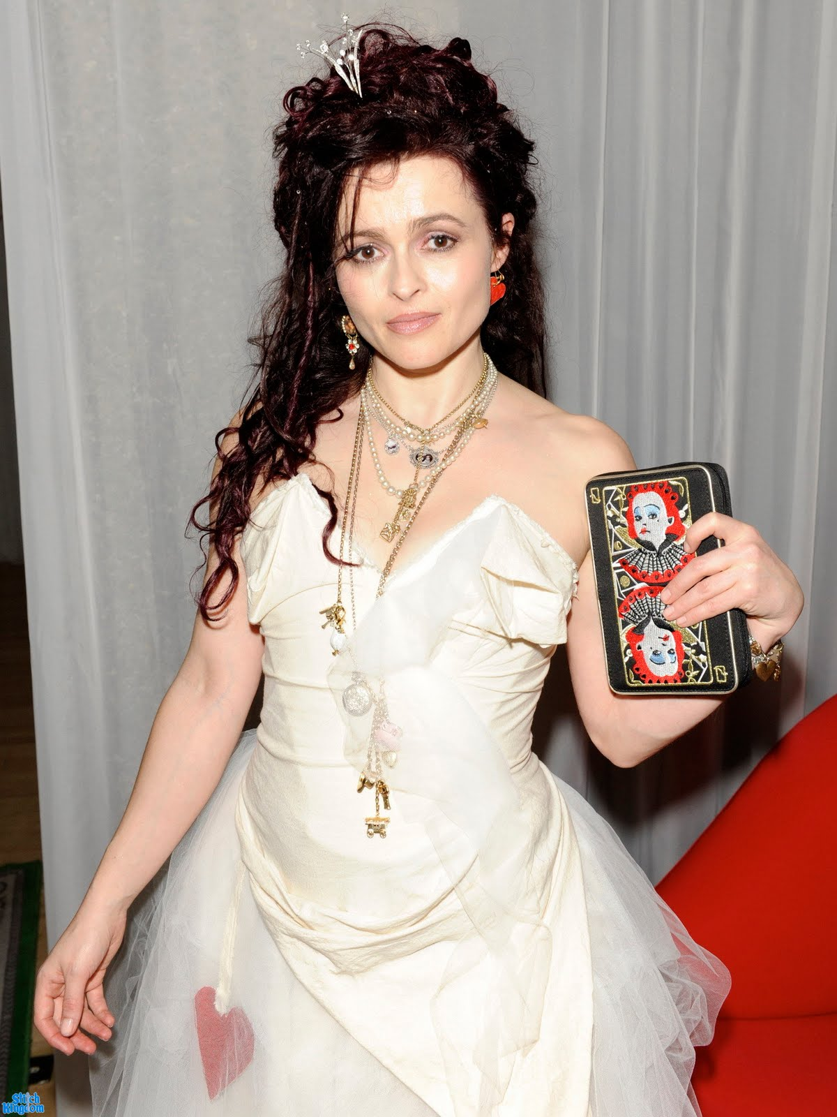 Helena Bonham Carter Alice in Wonderland Premiere